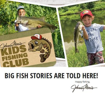The Johnny Morris Kids Fishing Club information