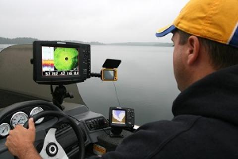 Armed with an array of electronics, many anglers today find their best ice fishing spots well before lakes freeze over by Armed with an array of electronics, many anglers today find their best ice fis...
