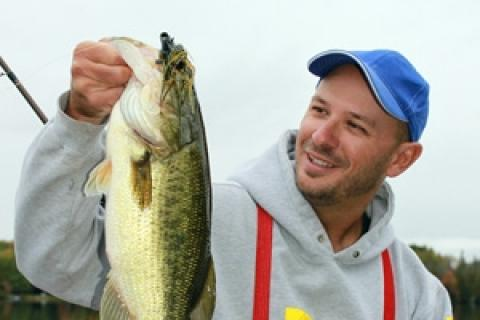 News & Tips: Dunkin' for Cold-Water Bass