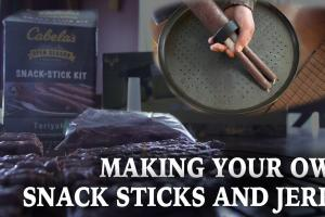 Make Your Own Waterfowl Jerky