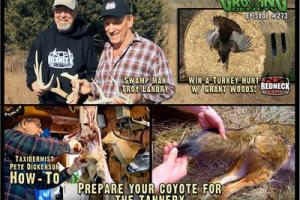 News & Tips: Skinning a Coyote Plus: Talking Whitetails with Troy Landry (video)...