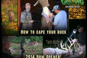 News & Tips: First Bow Hunt of the Season & How to Cape-Out a Buck (video)...